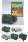 特価品 200RPS 200球防雨型ライト コネクター付 シルバーコード/クリア球/点滅型 約55%OFF!!