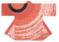 杉-7491 袢天・杉印 身丈85×身巾68cm 天竺木綿製【はんてん・はっぴ】