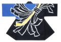杉-7497 袢天・杉印 身丈85×身巾68cm 天竺木綿製【はんてん・はっぴ】