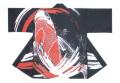 杉-7499 袢天・杉印 身丈85×身巾68cm 天竺木綿製【はんてん・はっぴ】
