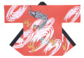 杉-7501 袢天・杉印 身丈85×身巾68cm 天竺木綿製【はんてん・はっぴ】