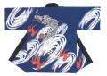 杉-7505 袢天・杉印 身丈85×身巾68cm 天竺木綿製【はんてん・はっぴ】