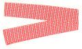 帯-8095 半纏帯(染帯)・帯印/赤