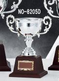 NO-8205D  シルバーカップ/Dサイズ265×132mm【表彰グッズ】