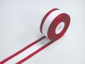 1.5赤耳リボン 5巻セット サイズ:巾36mm 長さ30m【選挙・イベント・式典】