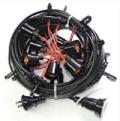 T8648-4 提灯コード 4灯式●防雨型【ちょうちん付属品】