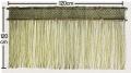 岡山県産いぐさ縄のれん 120cm×120cm 太縄