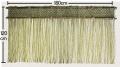 岡山県産いぐさ縄のれん 120cm×180cm 太縄