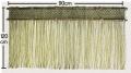 岡山県産いぐさ縄のれん 120cm×90cm 太縄