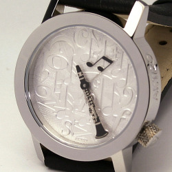 クラリネット AKTEO 音楽腕時計 ウォッチ 音楽雑貨 音楽ギフト