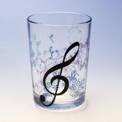 カレイドスコープ ト音記号 ダンブラー 音楽雑貨 音楽グッズ
