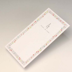 お札が入る封筒 ト音記号 音楽雑貨 音楽小物
