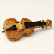Wooden ピン 弦楽器 コントラバス 音楽雑貨