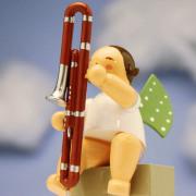 コントラファゴット Wendt & Kuehn 天使のオーケストラ 音楽雑貨 音楽グッズ 音楽ギフト