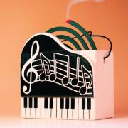 蚊やり グランドピアノ 蚊取り線香 音楽雑貨
