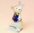 音楽雑貨 磁器 フィギュア ドリーズラビット Dolly's rabbit コンダクター 指揮者 うさぎ