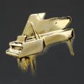 グランドピアノ Piano ブローチ 楽器グッズ 音楽雑貨