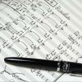 写譜ペン 楽譜 譜面 音符  インク ペン先 音楽雑貨 音楽グッズ 音楽文具