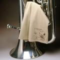 超極細繊維クロス ユーフォニアム スヌーピー エグゼクティブラグジュアリークロス 音楽雑貨 音楽グッズ 楽器用品 音楽ギフト