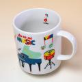 マグカップ ピアノ ヴァイオリン ホルン トランペット 発表会記念 音楽雑貨 音楽グッズ 音楽ギフト