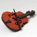 木彫ブローチ 弦楽器 violin viola cello 音楽雑貨 音楽グッズ 音楽小物
