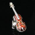 SV925シルバー ピンズ ヴァイオリン 音楽雑貨 音楽グッズ 音楽ギフト