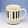 クラシカル マグカップ ピアノ 鍵盤 音楽雑貨 音楽ギフト
