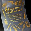 クリアファイル 管楽器 吹奏楽 音楽グッズ 音楽雑貨