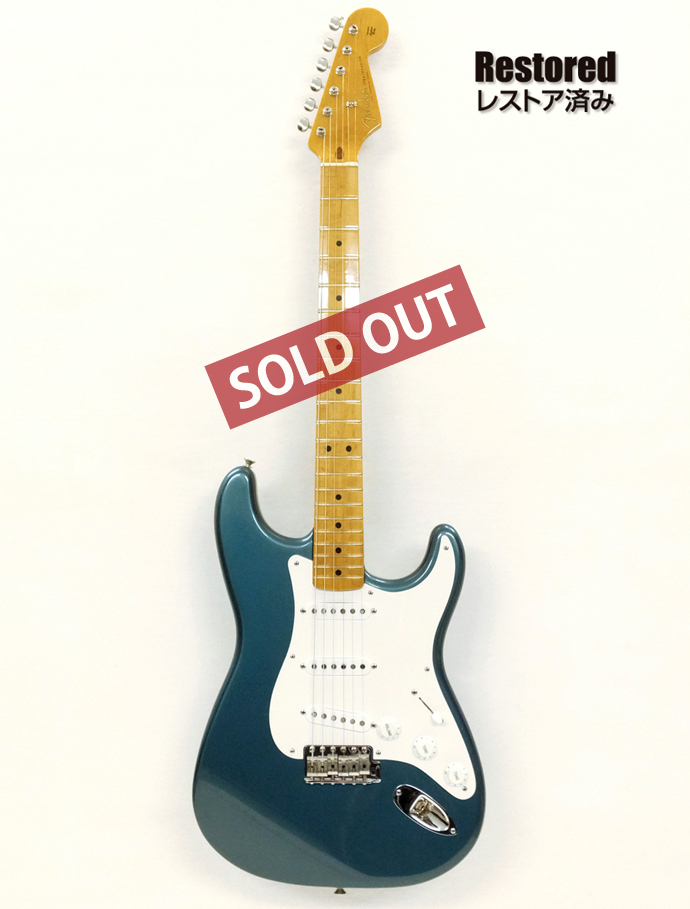 1992年  Fender Stratocaster Lake Placid Blue