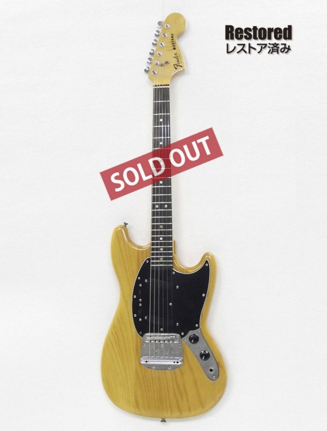 1978年 Fender Mustang【製後38歳】