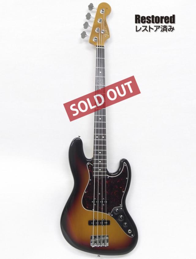 1996年 Fender Jazz Bass 50周年記念モデル【製後21年】