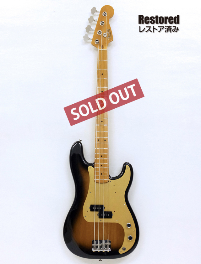 1989年 Fender Precision Bass '57model【製後28歳】
