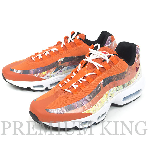 Dave White × NIKE AIR MAX 95 FOX ORANGE 新品.
