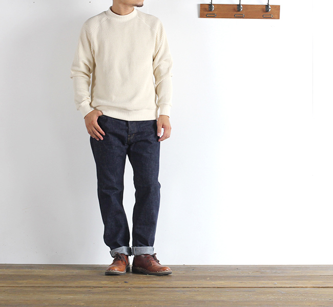 ordinary fits オーディナリーフィッツ NEW ROLL UP 5POCKET DENIM ニューロールアップデニム ONE WASH