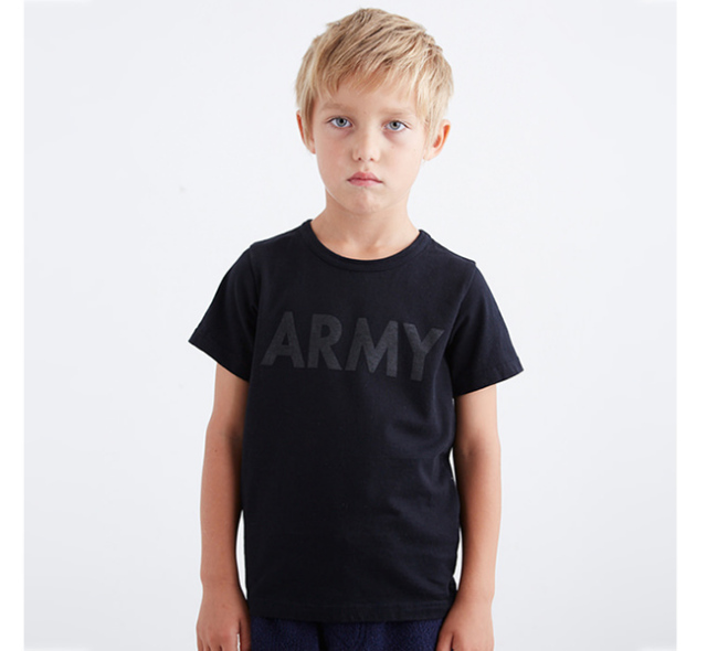 SALE40%//SMOOTHY スムージー 子供服 ARMY Tee 15t-04