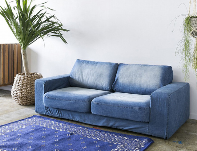 journal standard Furniture ジャーナルスタンダードファニチャー FRANKLIN SOFA DENIM 2P フランクリンソファデニム 2P