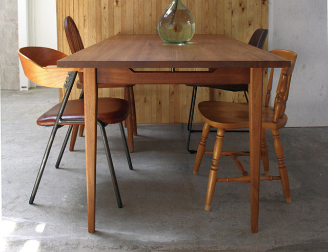 a. depeche アデペシュ Mnol dining table 1600 ムノル ダイニング テーブル 1600