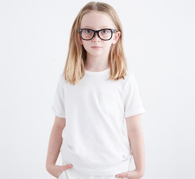 SALE40%//SMOOTHY スムージー 子供服 BIGポケットTシャツ 15cs-12