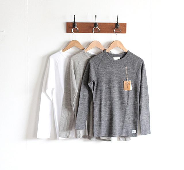 Kepani  ケパニ ラフィーストレッチフライス ロングスリーブTシャツ