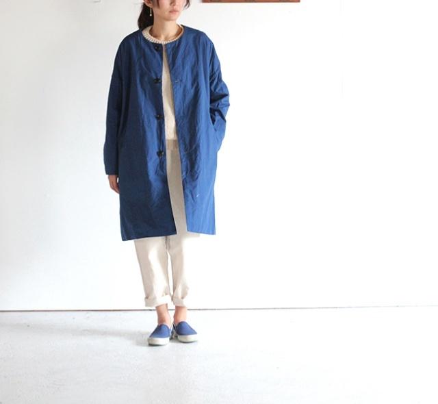 ironari(イロナリ) by EEL ノーカラーサクラコート 2017SS