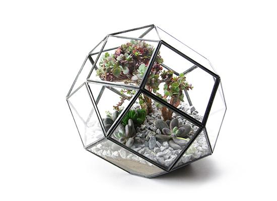 """Polyhedron Terrarium """"L""""ポリへドロンテラリウム """"L"""""""