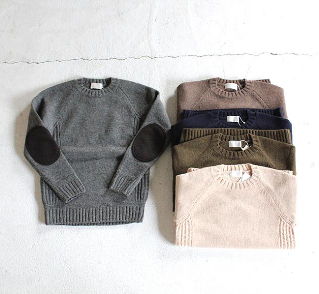 SALE30%OFF soglia ソリア LANDNOAH Sweater エルボーパッチセーター