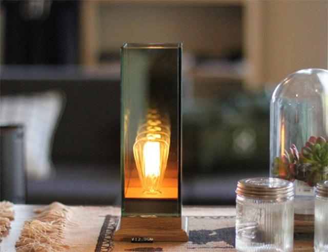 Wood Base Lamp  ウッドベースランプ