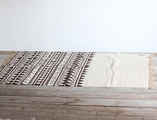 journal standard Furniture ジャーナルスタンダードファニチャー ラグ FONORE RUG  BEIGE 2000×1400