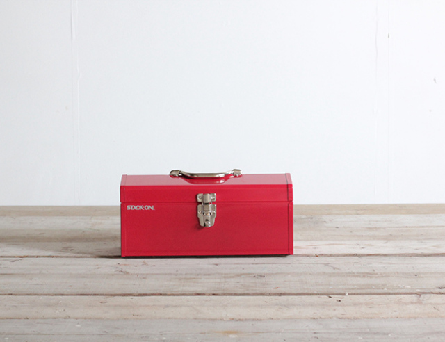 """STACK - ON    STEEL TOOL BOX 16"""" スチールツールボックス"""