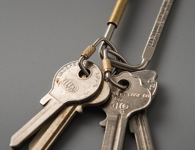 LYMAN Screw Lock Key Ring  ライマンスクリューロックキーリング