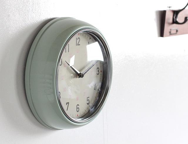 journal standard Furniture ジャーナルスタンダードファニチャー  GENT WALL CLOCK GREEN