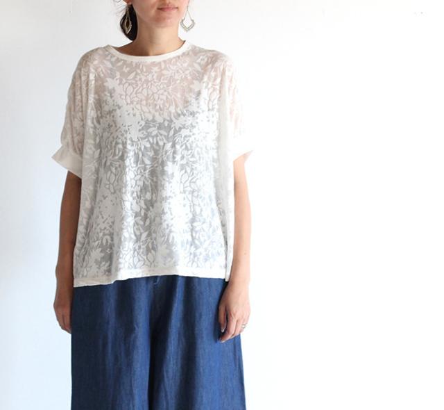 mizuiro-ind  ミズイロインド オパールワイドTシャツ