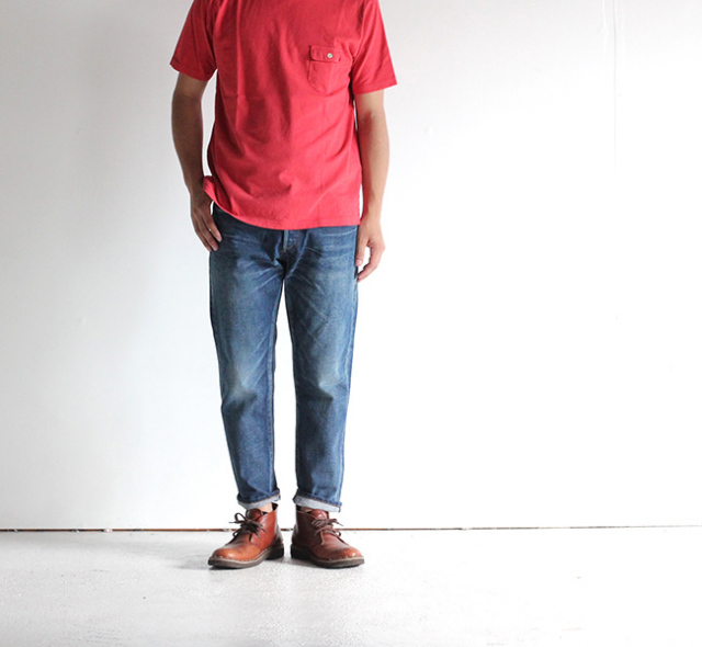 ordinary fits オーディナリーフィッツ 5POCKET ANKLE DENIM アンクルデニム USED 2YEAR