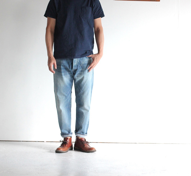 ordinary fits オーディナリーフィッツ 5POCKET ANKLE DENIM アンクルデニム USED 5YEAR